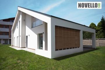 Realizzazione Casa in Legno Casa moderna a Busto Arsizio - Varese di Novellocase Srl
