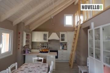 Modello Casa in Legno Casa Vacanze in montagna - Santa Maria Maggiore di Novellocase Srl
