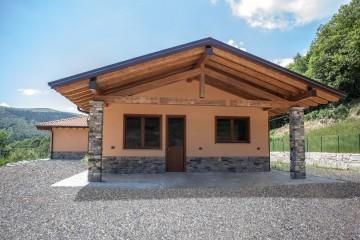 Realizzazione Casa in Legno Casa in legno a Gignese di Novellocase Srl