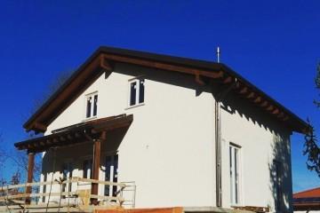 Realizzazione Casa in Legno Sopraelevazione in legno a Cuneo di Novellocase Srl