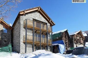 Realizzazione Casa in Legno Casa in paglia senza impianti - Chamois (AO) di Novellocase Srl