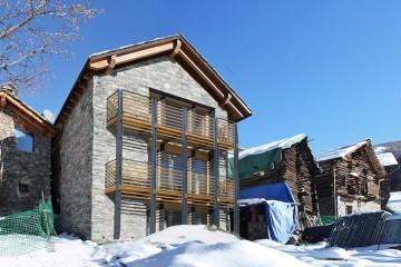 Case in Legno Casa in paglia senza impianti - Chamois (AO)