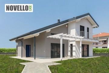 Realizzazione Casa in Legno Villa in legno classica ed elegeante di Novellocase Srl