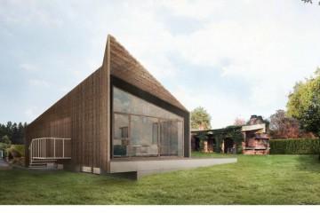 Realizzazione Casa in Legno ATELIER CINQ FO di Novellocase Srl
