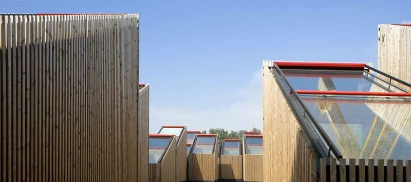 Edifici Pubblici (scuole, chiese) in legno Novellocase Srl Sede ARPA, Ferrara