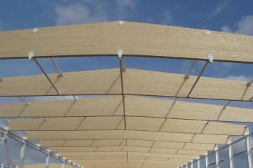 Strutture ricettive (hotel, villaggi) in Legno: Magazzino Industriale Sistem Costruzioni