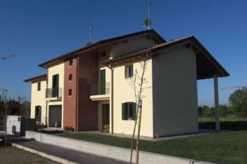 Case in Legno e Villette in Legno: Bifamiliare - Five Sistem Costruzioni