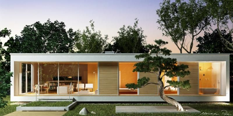 Case in legno BIOHAUS Casa Glam
