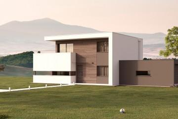 Modello Casa in Legno Nancy M3+3 di BIO-HOUSE