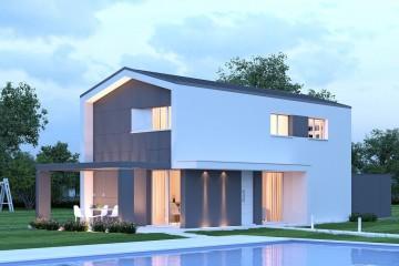Modello Casa in Legno Lione C 2+2 11m di BIO-HOUSE