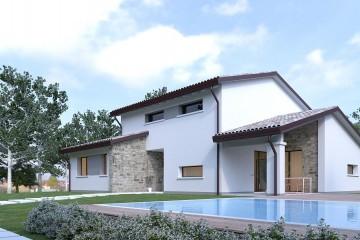 Modello Casa in Legno Verona di BIO-HOUSE