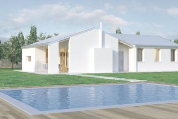 Modello Casa in Legno Avignone di BIO-HOUSE