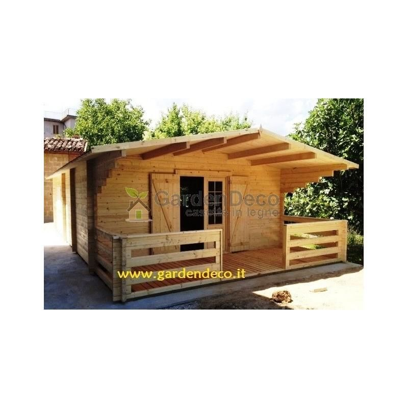 Baite e Chalet in legno GARDENDECO Bungalow typ - 1