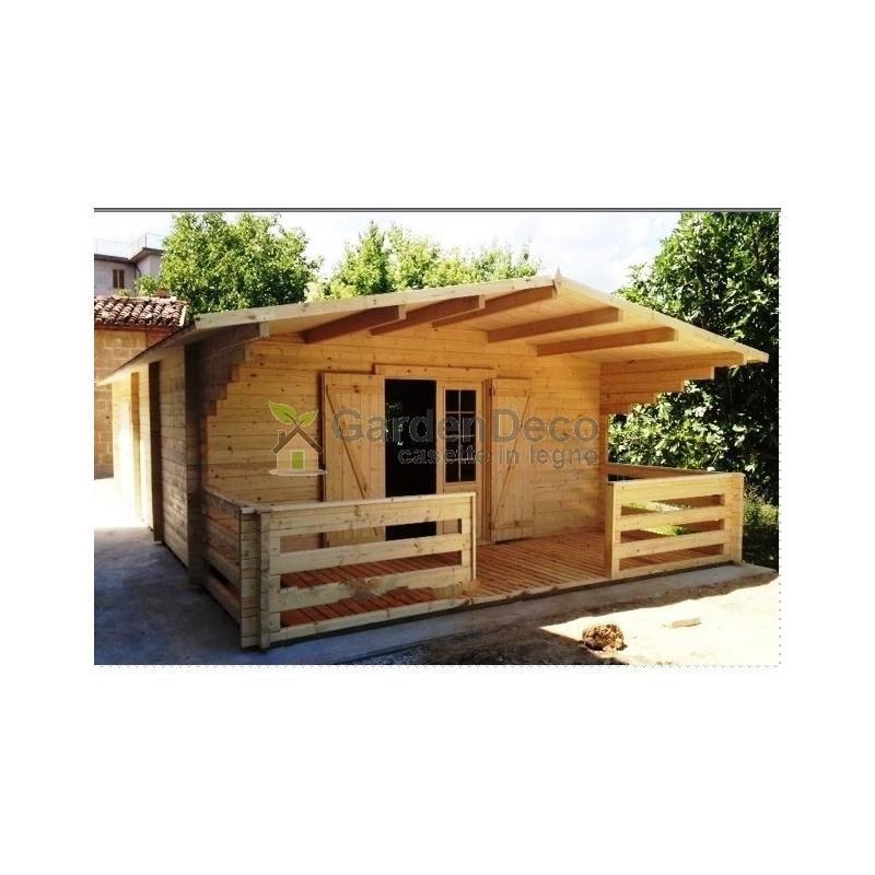Bungalow in legno CASETTAFACILE Bungalow Typ -2