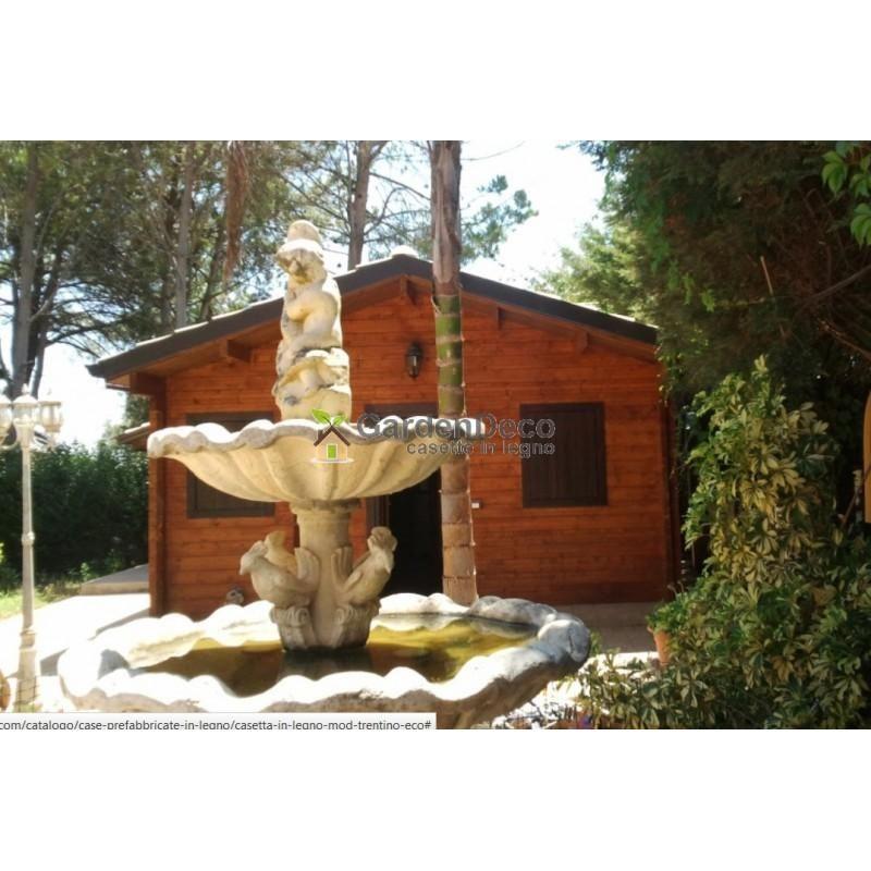 Bungalow in legno modello bungalow dan di casettafacile for Modello di casa bungalow
