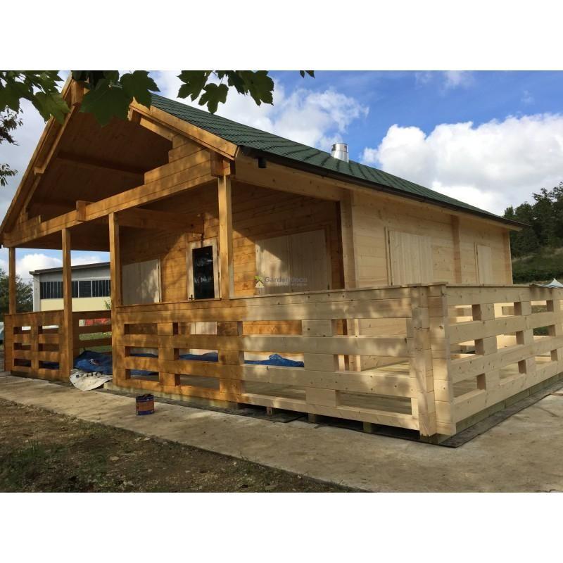 Bungalow in legno modello bungalow firenze 68m di for Modello di casa bungalow