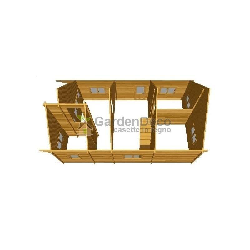 Bungalow in legno CASETTAFACILE Bungalow Garda