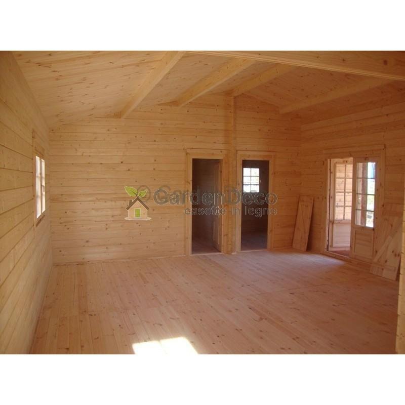 Bungalow in legno CASETTAFACILE Bungalow Italia 5 vani