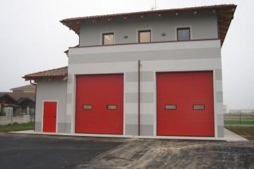 Edificio Pubblico (scuola, chiesa) in Legno Caserma Vigili del Fuoco Villanova D'Asti (Asti)
