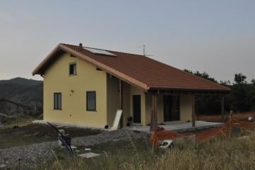 Realizzazione Casa in Legno Grondona (Alessandria) di Building Evolution