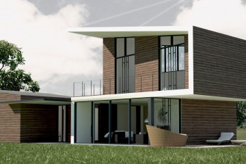 Casa in Legno Villa contemporanea