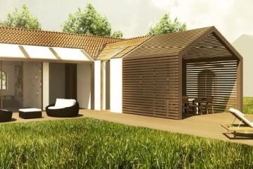 Modello Casa in Legno Villa bifamiliare di Building Evolution