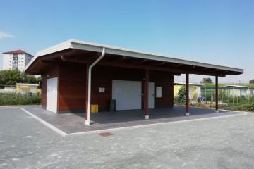 Realizzazione Baita o Chalet in Legno Quartiere Falchera (Torino) di Building Evolution
