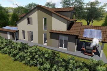 Realizzazione Casa in Legno San Maurizio Canavese (Torino) di Building Evolution