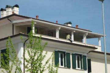 Tetti in Legno in Legno: Copertura terrazzo