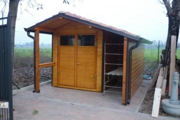 Casette da Giardino in Legno: Prefabbricata