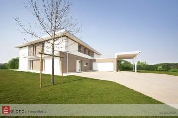 Realizzazione Casa in Legno Eiland a Caldogno VI di Eiland srlu