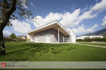 Realizzazione Casa in Legno Eiland a Schio VI di Eiland srlu