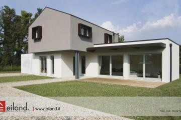 Realizzazione Casa in Legno Eiland a Grantorto PD di Eiland srlu