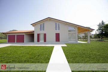 Realizzazione Casa in Legno Eiland a Teolo PD di Eiland srlu