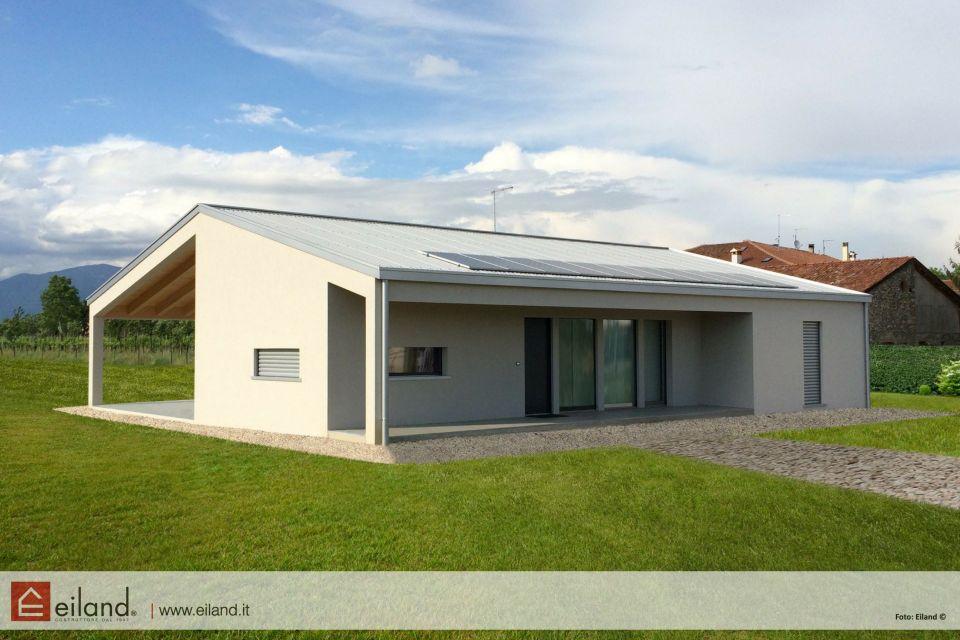 Casa in Legno in stile Moderno: Eiland a Malo VI Passivhaus
