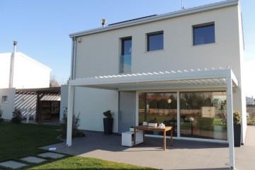 Realizzazione Casa in Legno Eiland a Noventa Padovana Bifamiliare di Eiland srlu