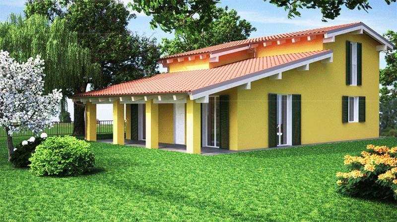 Casa in legno modello casa fogliano di arconord for Costruttore di case virtuali