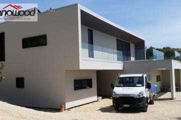 Realizzazione Casa in Legno Villa panoramica a Minturno (LT) di Technowood