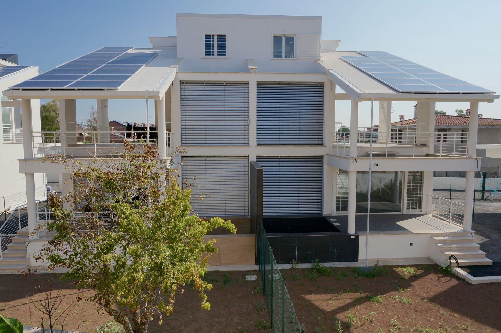 Realizzazione Casa in Legno Ville Passive Roma - Ostia Antica di Technowood
