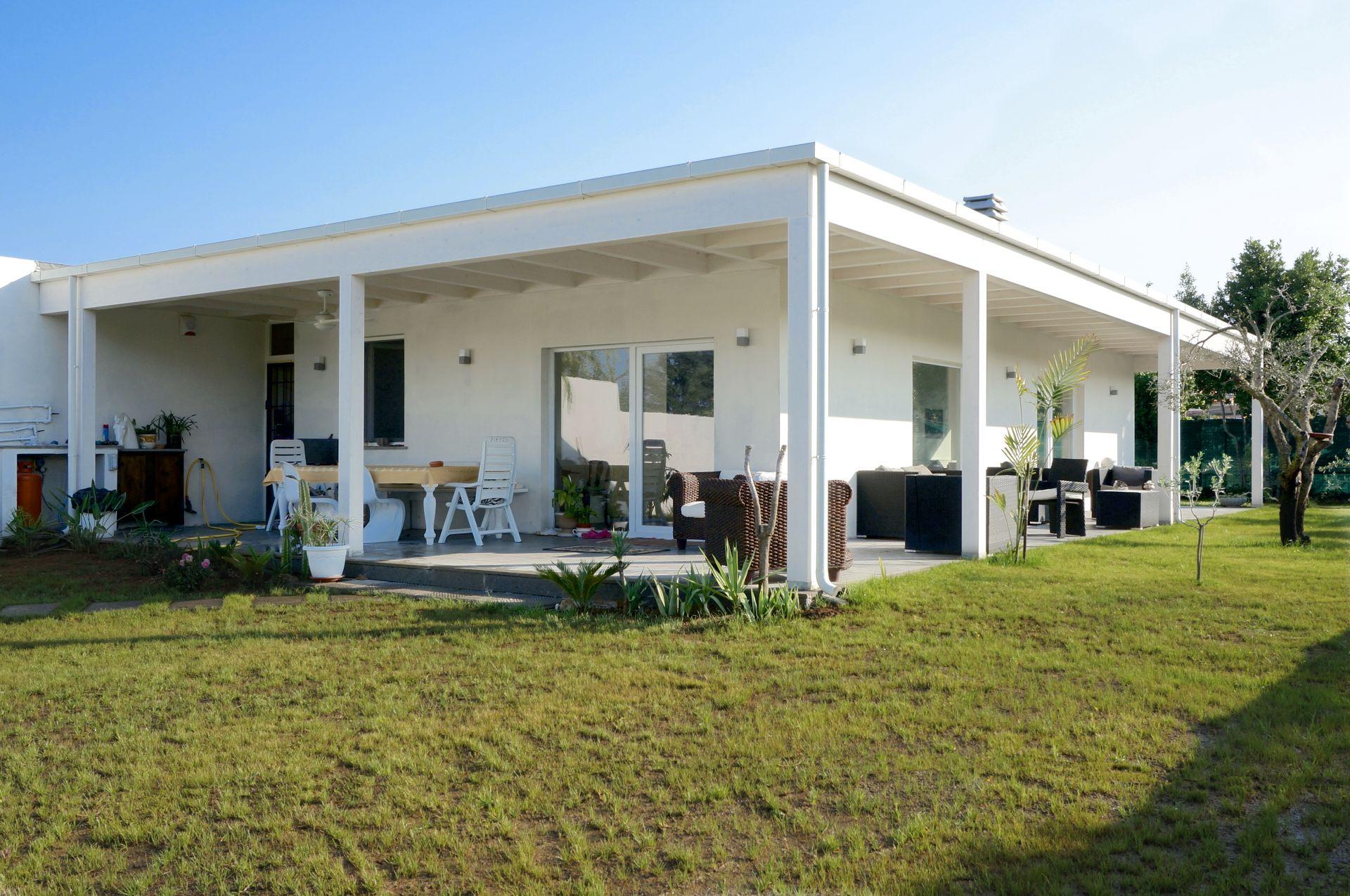 Realizzazione Casa in Legno Villa unifamiliare Passiva Roma - Infernetto di Technowood