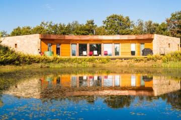 Realizzazione Casa in Legno Club House - Radicondoli Siena - Struttura Passiva di Technowood
