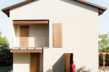 Modello Casa in Legno ABITAZIONE IN PROVINCIA DI MODENA di CasaAttiva