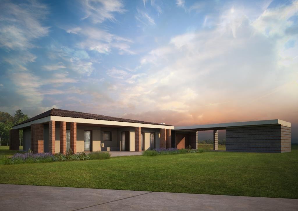 Modelli di case prefabbricati in legno for Case a un piano progetti