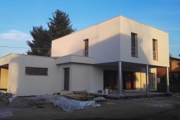 Modello Casa in Legno CANTIERE IN CORSO A VARESE di CasaAttiva