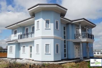Modello Casa in Legno Casa in bioedilizia costruita su progetto /Genola (CN) di sangallo srl