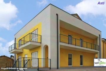 Modello Casa in Legno Casa in bioedilizia costruita su progetto /Asti di sangallo srl