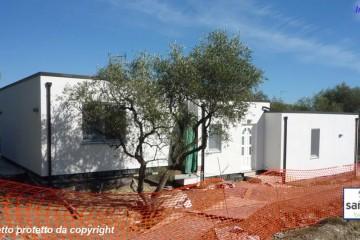 Modello Casa in Legno Casa in bioedilizia costruita su progetto /Imperia di sangallo srl
