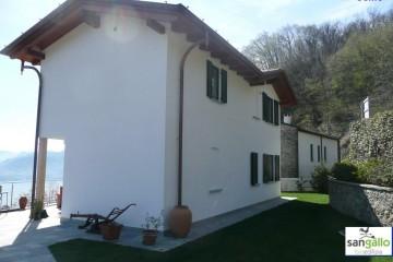 Modello Casa in Legno Casa in bioedilizia costruita su progetto /Como di sangallo srl
