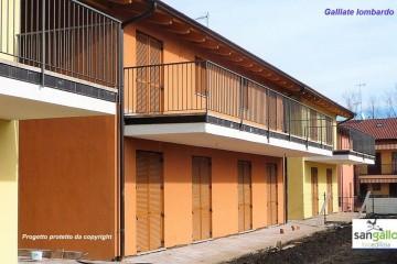 Modello Casa in Legno Casa in bioedilizia costruita su progetto /Galliate Lombardo di sangallo srl