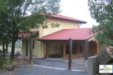 Modello Casa in Legno Casa in bioedilizia costruita su progetto / Torrotta di sangallo srl